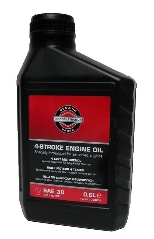 Briggs and Stratton SAE30 Engine Oil - 0.6ltr - Lawnmower ...