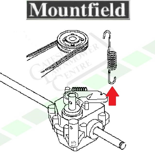 Mountfield Sp470 Gearbox Tension Spring Lawnmower World
