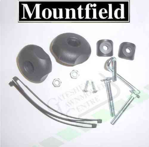 Mountfield Handle Bar Bolt + Wing Nut Kit