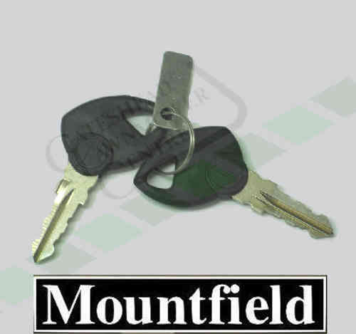 Mountfield Ignition Keys - 1436M + 1636H Lawn Tractor