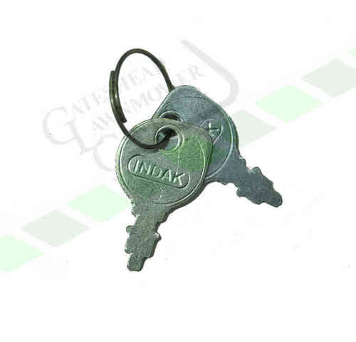 Universal Lawn Tractor Ignition Key - Lawnflite - Mountfield - MTD