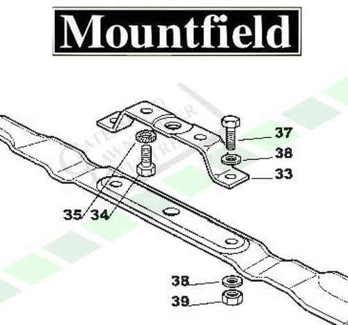 Mountfield 725m + 725v Blade Holder Kit
