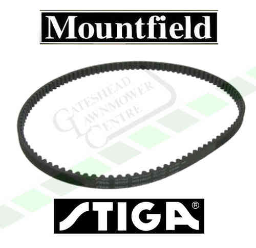Mountfield Stiga Toothed Timing Belt - 107cm Villa / Park