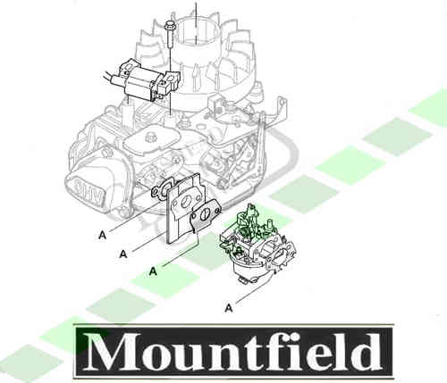 Mountfield RS100 + RSC100 + RSCT100 Carb Gasket Kit