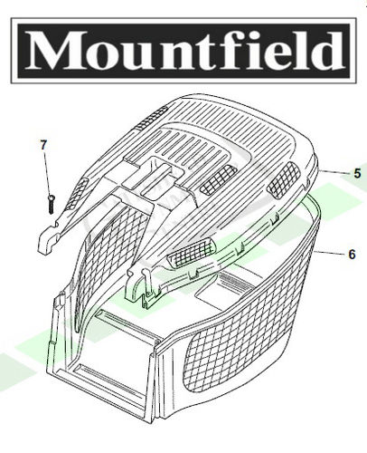 Mountfield Complete Grass Box HP454/SP454/SP536