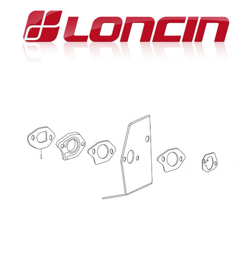 Loncin LC1P61FA 140cc Carb Mounting Gaskets