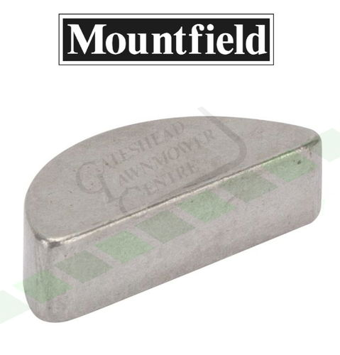Mountfield 1436m + 1436h Woodruff Key