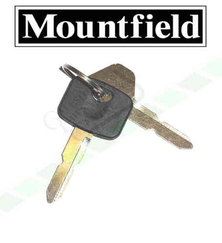 Mountfield Ignition Keys - 827M + 827H