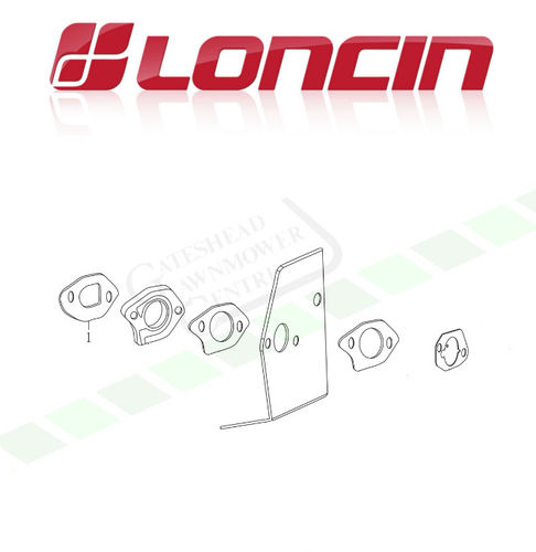 Loncin LC1P65FA 159cc Carb Mounting Gaskets