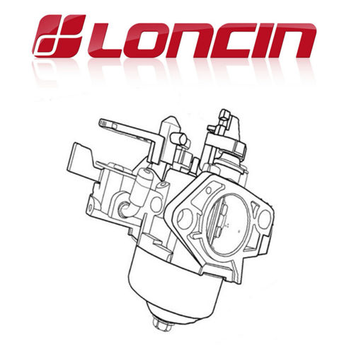 "Loncin LC1P65FA 159cc ""Manual Choke"" Carburettor"