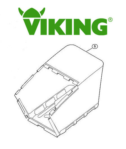 Viking MB750 + MB755 Grass Bag (Fabric)