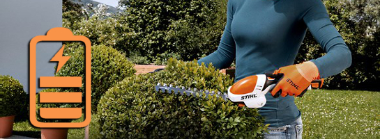 Cordless Rechargeable Hedge Trimmers and Cutters