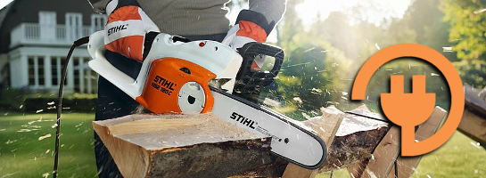 New Mains Electric Chainsaws