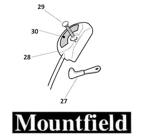 Mountfield-Throttle-Cable