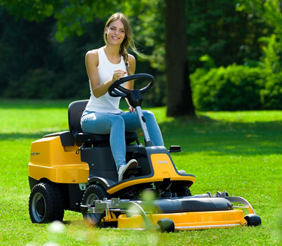 Lawn and Garden Tractors - Out Front + Commercial