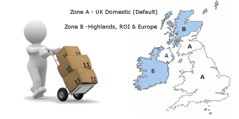 Lawnmower World Shipping Zone's