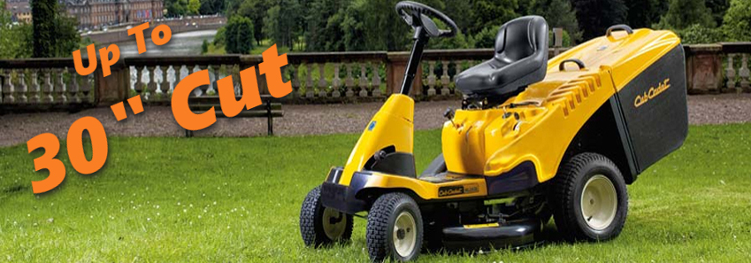 Mountfield and Cub Cadet Ride On Mowers